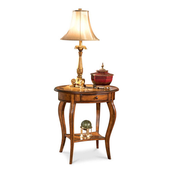 Wellington Medium Brown Accent Table, image 2