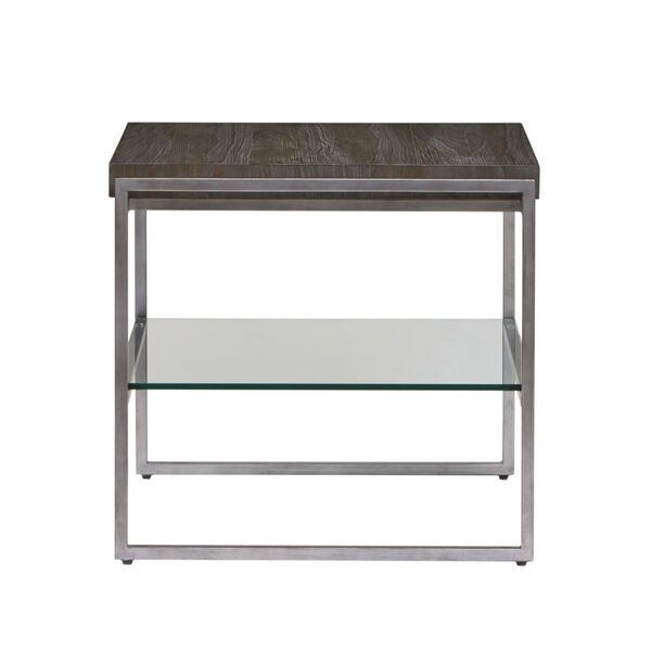 Thiago Brown Rectangular End Table, image 3