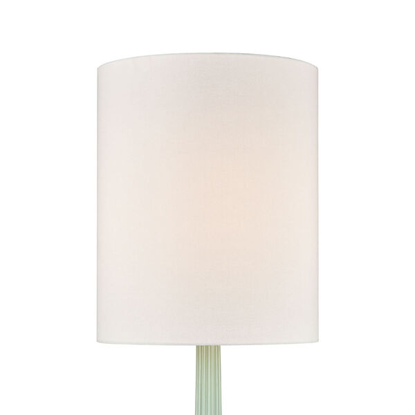Marlais Seascape Green and Brushed Steel One-Light Table Lamp, image 3