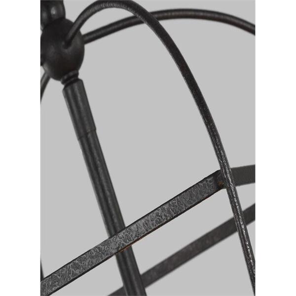 Stonington Smith Steel Three-Light Chandelier, image 6