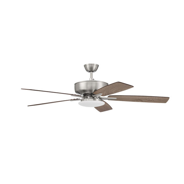 Pro Plus Brushed Polished Nickel 52-Inch LED Ceiling Fan, image 1