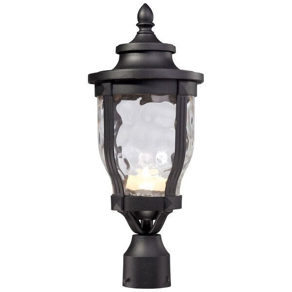 Merrimack One-Light LED Outdoor Post Mount in Black, image 1