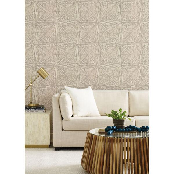 Antonina Vella Elegant Earth Light Glint Squareburst Geometric Wallpaper, image 4