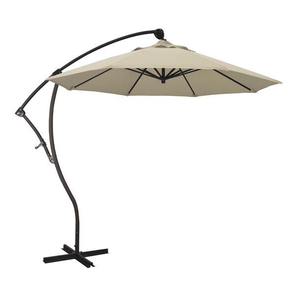 Bayside Bronze with Beige Nine-Feet Pacifica Patio Umbrella, image 1