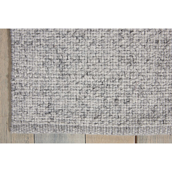 Tobiano Roan Silver Rectangular: 5 Ft. 3 In. x 7 Ft. 5 In. Rug, image 3
