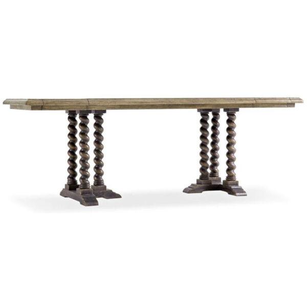 La Grange Barn Wood 60-Inch Console Table, image 1
