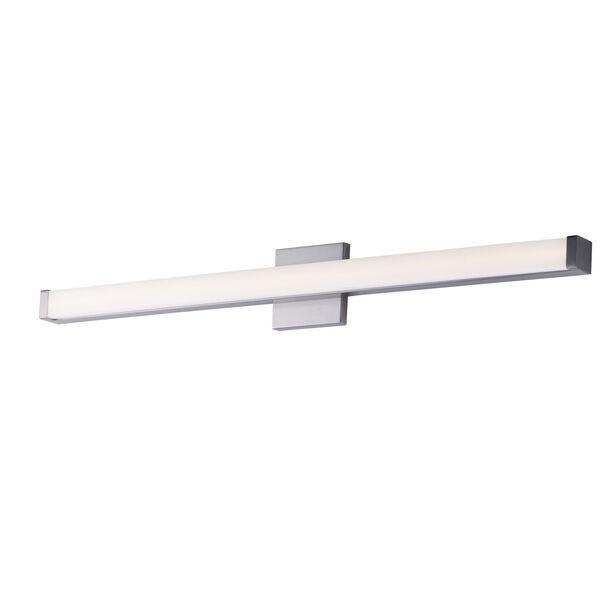 Spec Vanity Satin Nickel 36-Inch LED Bath Bar, image 1
