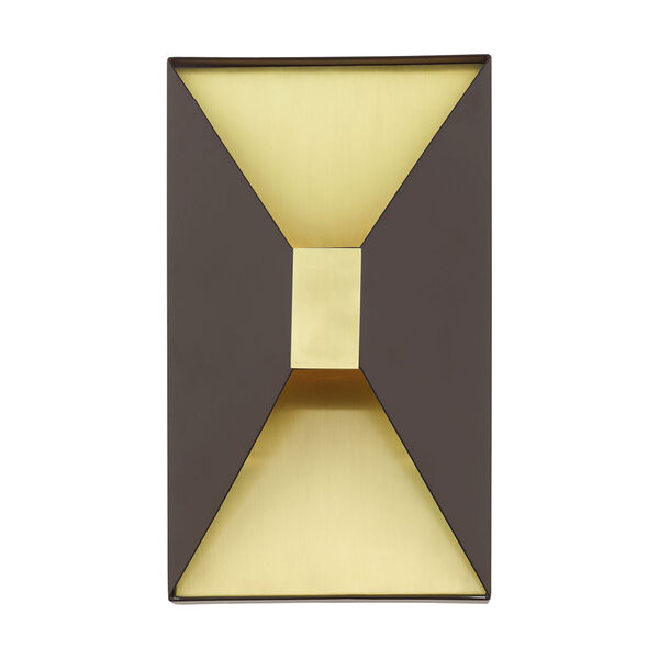 Lexford Bronze Two-Light ADA Wall Sconce, image 3