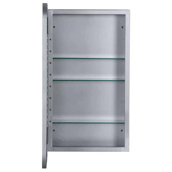 Hadley Silver Medicine Cabinet, image 4
