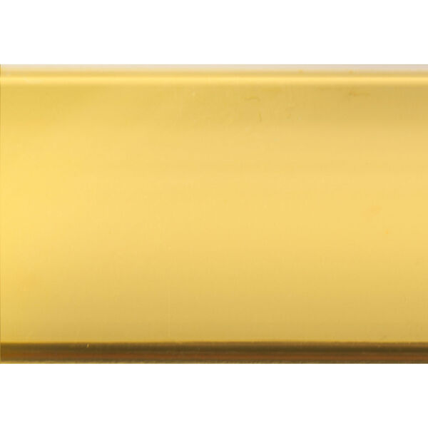 Gold Coffee Table with Tempered Glass, image 5