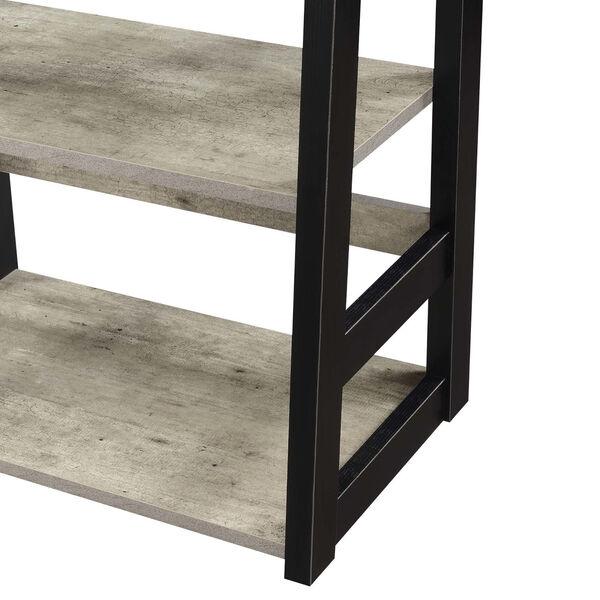 Designs2Go Faux Birch Black Trestle Bookcase, image 4