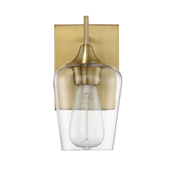 Selby Warm Brass One-Light Wall Sconce, image 5