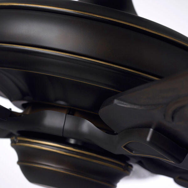 Golden Espresso Carrera Grande Eco Ceiling Fan, image 5