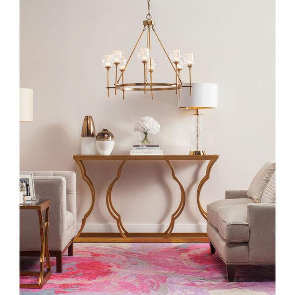 Monroe White and Copper Vase Set, image 3