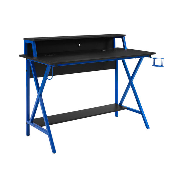 Ian Black Blue Desk, image 1