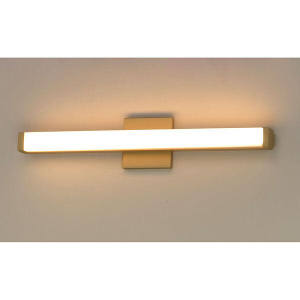Gold 24-Inch LED ADA Bath Bar Title 24, image 4