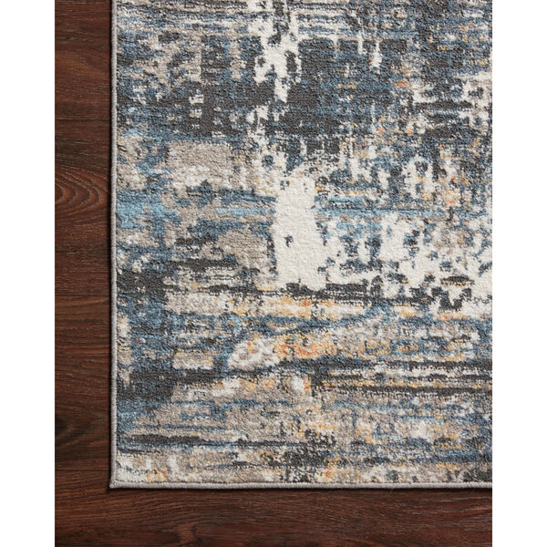 Maeve Slate and Apricot 9 Ft. 3 In. x 13 Ft. Area Rug, image 4