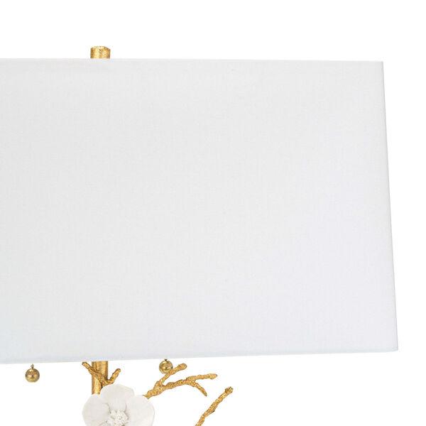 Cherise Gold Two-Light Horizontal Table Lamp, image 2
