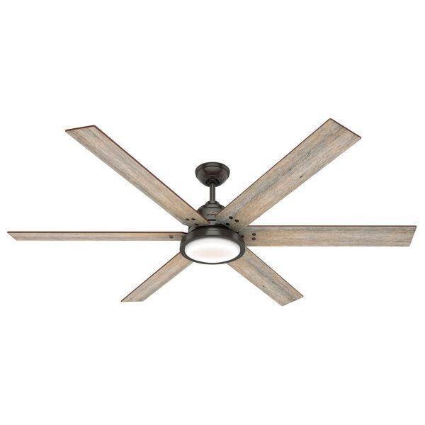 Warrant Noble Bronze 70-Inch DC Motor LED Ceiling Fan, image 1