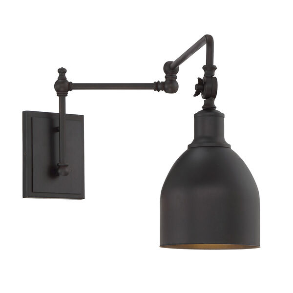 River Station Oil Rubbed Bronze One-Light Wall Sconce, image 4
