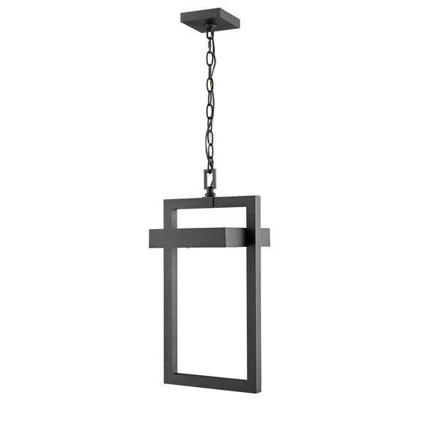 Luttrel Black One-Light LED Outdoor Pendant, image 3