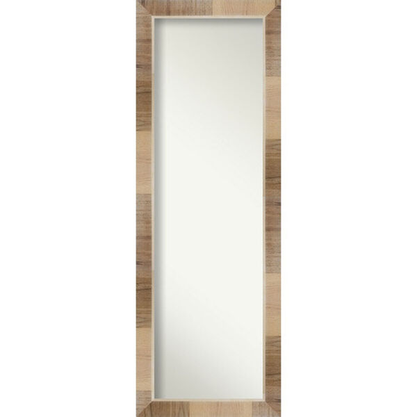 Brown 18-Inch Full Length Mirror, image 1