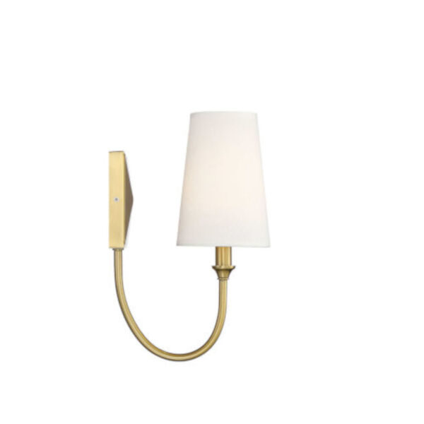 Anna Warm Brass One-Light Wall Sconce, image 4