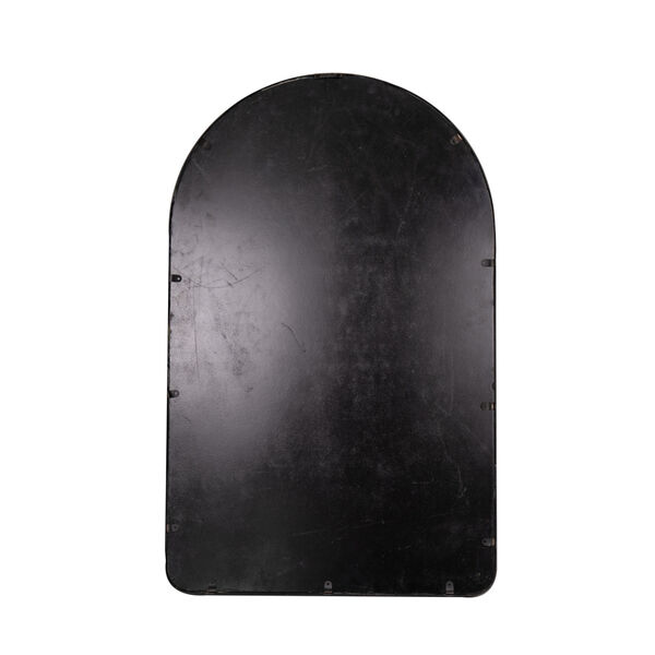 Sebastian Black 38-Inch Arched Wall Mirror, image 4