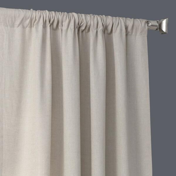 Signature Birch French Linen Sheer Single Panel Curtain Panel, 50 X 96, image 3
