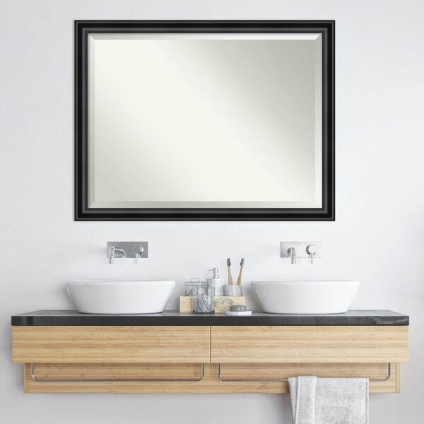 Black 44W X 34H-Inch Bathroom Vanity Wall Mirror, image 6