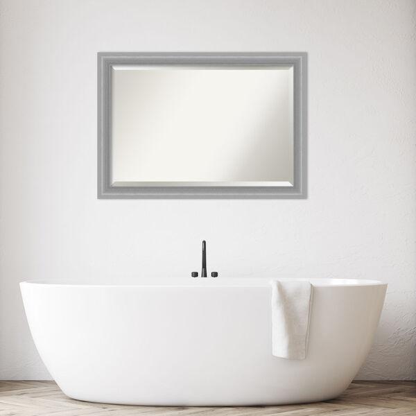 Peak Brushed Nickel 41W X 29H-Inch Bathroom Vanity Wall Mirror, image 3