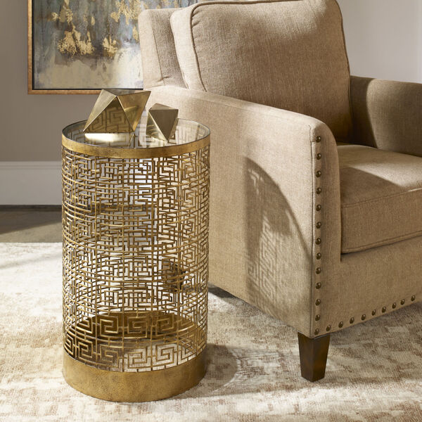 Algernon Gold Coffee Table, image 2