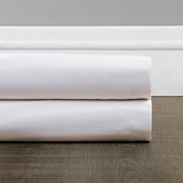 Ruched Eggshell 108 x 50-Inch Faux Silk Taffeta Curtain Single Panel, image 7