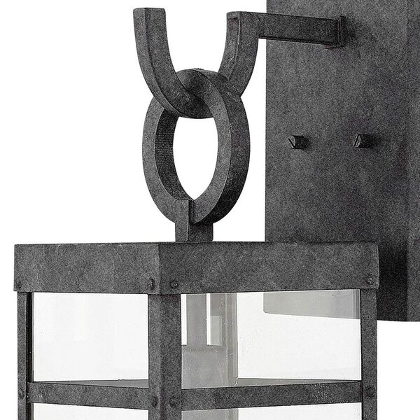 Porter Aged Zinc 22-Inch Outdoor Wall Mount, image 2