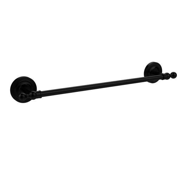 Matte Black 18 Inch Towel Bar, image 1