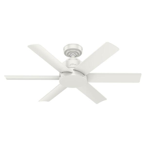 Kennicott Fresh White 44-Inch Outdoor Ceiling Fan, image 1