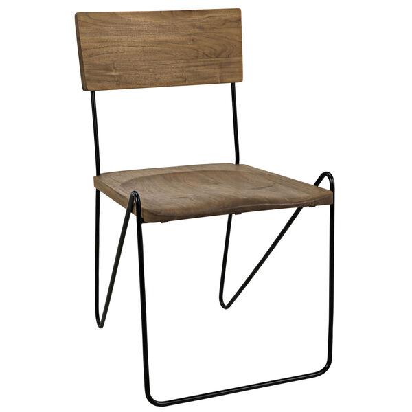 Espinosa Natural Dining Chair, image 1