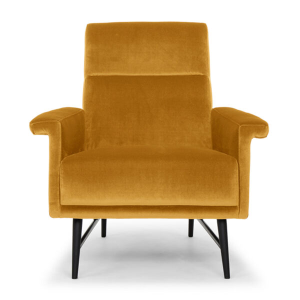 Mathise Mustard and Black Occasional Chair, image 2