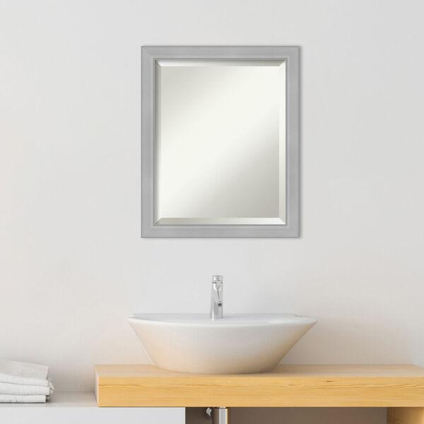 Vista Brushed Nickel 19W X 23H-Inch Bathroom Vanity Wall Mirror, image 3