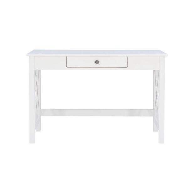 Abigail Antique White Laptop Desk, image 2