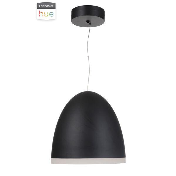 Studio Flat Black 16-Inch LED Pendant, image 1