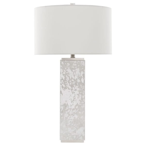 Sundew Silver and Nickel One-Light Table Lamp, image 2