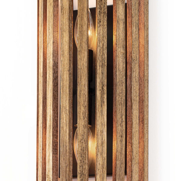 Orchard Brown Two-Light Wall Sconce, image 3