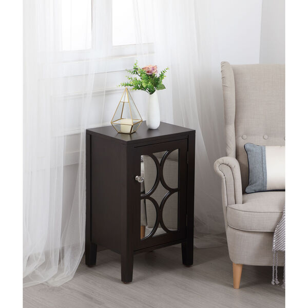 Modern Dark Walnut 18-Inch Cabinet, image 4