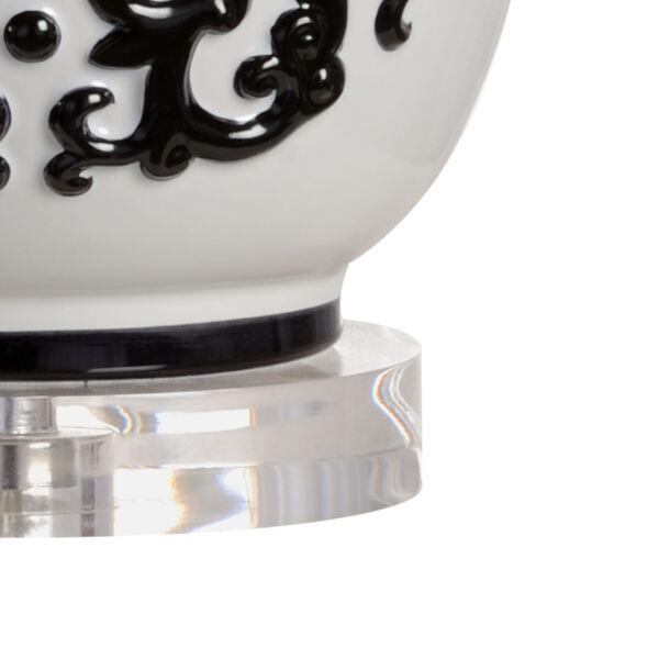 Georgine Black and White One-Light Table Lamp, image 2
