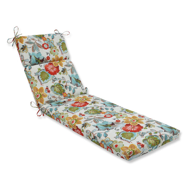 Outdoor / Indoor Alatriste Ivory Chaise Lounge Cushion, image 1
