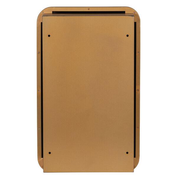 Hadley Gold Surface Medicine Cabinet with Adjustable Shelves, image 5