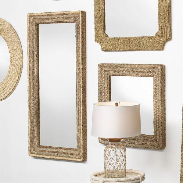 Evergreen Natural Square Mirror, image 4