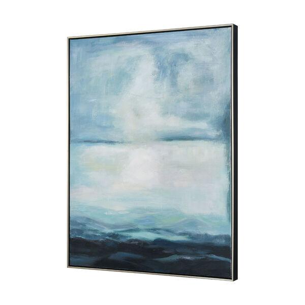 Acrylic Blue Open Horizon Wall Art, image 2