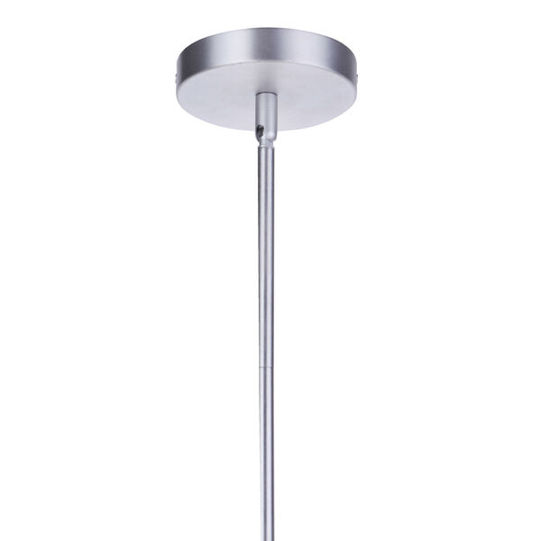 Sivo Satin Aluminum One-Light Outdoor Mini-Pendant, image 5
